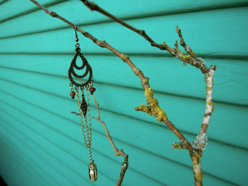 Repurposed Jewelry, Earring Piece